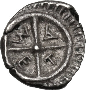 reverse: Thrace, Mesembria .  AR Diobol, 450-350 BC