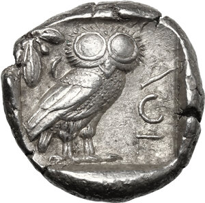 reverse: Attica, Athens. AR Tetradrachm, c. 454-404 BC