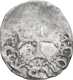 reverse: Genoese Colonies.  Maona of Chios (circa 1347-1566).. AR quarto di Gigliato, struck circa 1390-1430. Chios mint