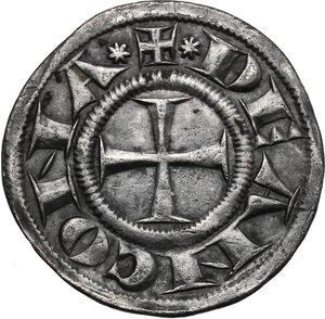 obverse: Ancona.  Repubblica Autonoma (Sec. XIII-XV). Grosso agontano