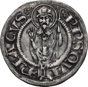 reverse: Ancona.  Repubblica Autonoma (Sec. XIII-XV). Grosso agontano