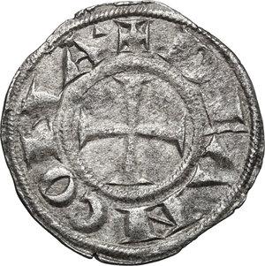 obverse: Ancona.  Repubblica Autonoma (Sec. XIII-XV). Denaro, emissioni del XIII secolo