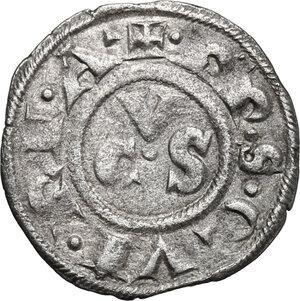 reverse: Ancona.  Repubblica Autonoma (Sec. XIII-XV). Denaro, emissioni del XIII secolo