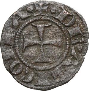 obverse: Ancona.  Repubblica Autonoma (Sec. XIII-XV). Denaro, emissioni del XIV sec