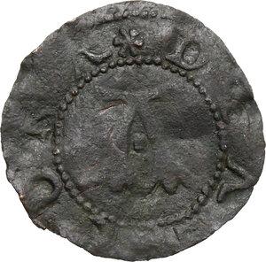 obverse: Ancona.  Repubblica Autonoma (Sec. XIII-XV). Quattrino, emissioni del XV sec