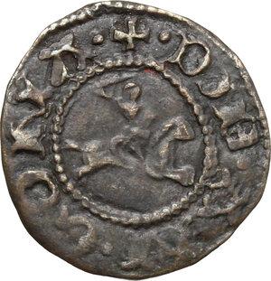 reverse: Ancona.  Repubblica Autonoma (Sec. XIII-XV). Quattrino, emissioni del XV sec