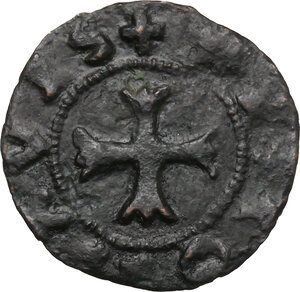 obverse: Ancona.  Repubblica Autonoma (Sec. XIII-XV). Quattrino