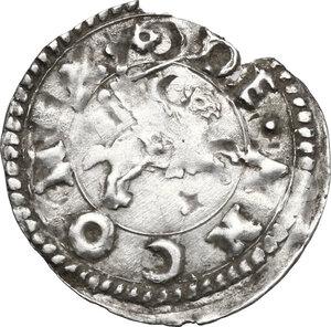 reverse: Ancona.  Anonime attribuite a Clemente VII (sec. XVI). Bolognino marchigiano