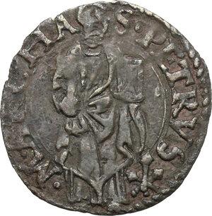 reverse: Ancona.  Paolo III (1534-1549), Alessandro Farnese. Quattrino