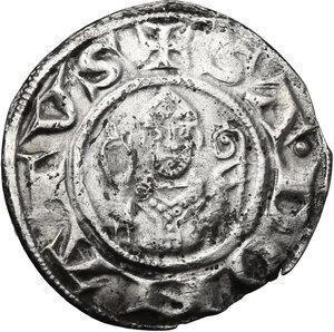 reverse: Arezzo.  Repubblica (XIII sec.). Grosso da 12 denari, 1230-1250