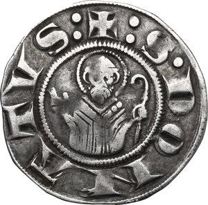reverse: Arezzo.  Repubblica (Sec. XIII). Grosso da 12 denari