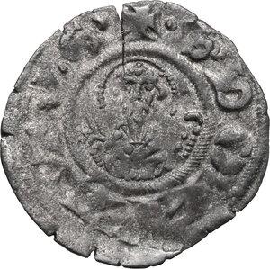 reverse: Arezzo.  Repubblica (Sec. XIII). Denaro piccolo