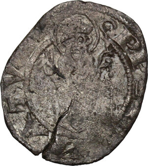 reverse: Arezzo.  Guido Tarlati di Pietramala (1313-1326). Grosso da 6 denari o grossetto