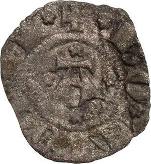 obverse: Bologna.  Giovanni Visconti (1350-1360).. Bolognino piccolo