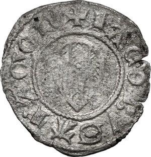 obverse: Bonaria.  Giacomo II d Aragona (1323-1327). Alfonsino minuto
