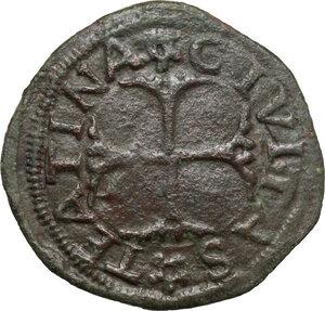 reverse: Chieti.  Carlo VIII re di Francia (1494-1495).. Cavallo