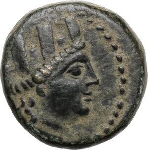 obverse: Cilicia, Tarsos. AE 20 mm, 164 BC and later