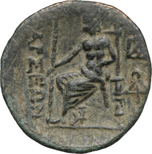 reverse: Cilicia, Tarsos. AE 20 mm, 164 BC and later