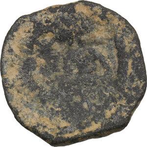 reverse: Nabatea.  Aretas IV (9 BC - 40 AD).. AE 18mm, Petra mint, 9 BC - 40 AD