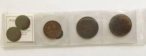 obverse: Umberto I (1878-1900).. Lotto di 6 monete: 10 centesimi 1894 Roma, 10 centesimi 1894 Birmingham, 5 centesimi 1895, 2 centesimi 1900 (2) e centesimi 1900