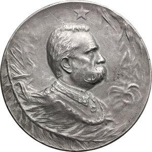 obverse: Umberto I (1878-1900).. Medaglia 29 luglio 1900, il Popolo Argentino in memoria del re d Italia