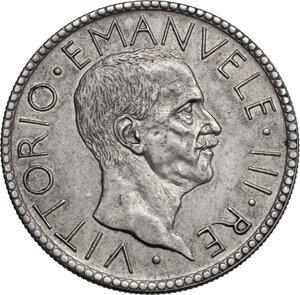 obverse: Vittorio Emanuele III (1900-1943). 20 lire 1927 A. VI