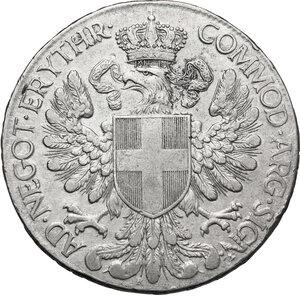 reverse: Vittorio Emanuele III (1900-1943). Tallero 1918