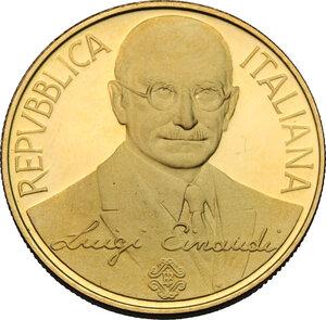 obverse: 100 000 lire in oro 1994, Centenario della Banca d Italia