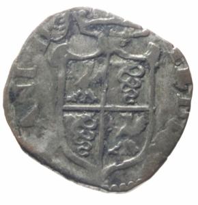 obverse: Zecche Italiane . Milano. Filippo II. 1556-1598. Parpagliola s.d. MI. Cr. 43. Peso gr. 2,27. qBB.