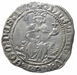 obverse: Zecche Italiane. Napoli. Alfonso I d Aragona. 1442-1458. Carlino. AG. P-R 3e. Peso 3,60 gr. Diametro 27,00 mm. SPL. ex Tintinna 56, lotto 8001, aggiudicata ma non pagata.