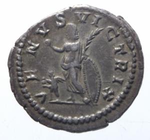 reverse: Impero Romano. Plautilla, moglie di Caracalla, deceduta nel 212 d.C. Denario. AG. D/ PLAVTILLA AVGVSTA. Busto drappeggiato a destra. R/ VENVS VICTRIX. Venere, stante a sinistra, tiene pomo e ramo di palma. Accanto a lei, a destra, uno scudo. Ai suoi piedi Cupido. RIC 369. Peso gr. 3,50. Diametro mm. 20,00. BB+. R.