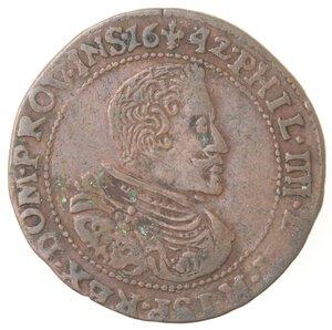 obverse: Olanda. Filippo IV. Token 1642. Ae.