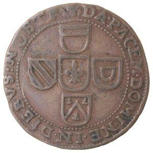 reverse: Olanda. Filippo IV. Token 1642. Ae.
