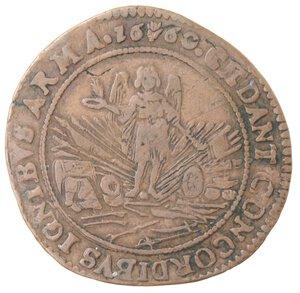 reverse: Olanda. Filippo IV. Token 1660. Ae.
