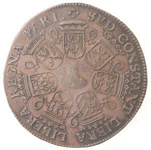 reverse: Olanda. Carlo II. Token 1662. Ae.