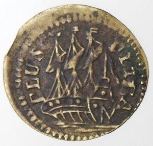 reverse: Spagna. Tessera. Sec. XVIII. Br.
