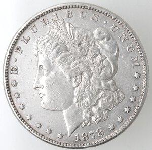 obverse: USA. Dollaro Morgan 1878 S. Ag.
