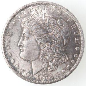 obverse: USA. Dollaro Morgan 1878 CC. Ag.
