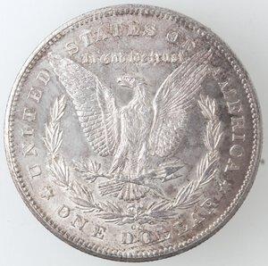 reverse: USA. Dollaro Morgan 1878 CC. Ag.