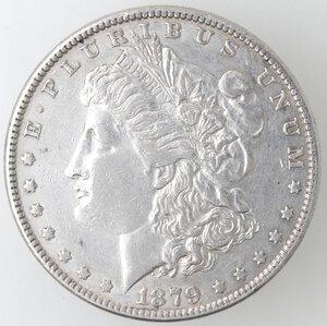 obverse: USA. Dollaro Morgan 1879 Philadelphia. Ag.