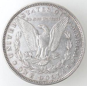 reverse: USA. Dollaro Morgan 1879 Philadelphia. Ag.