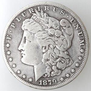 obverse: USA. Dollaro Morgan 1879 O. Ag.