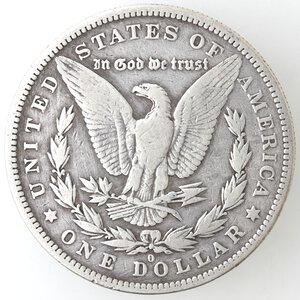 reverse: USA. Dollaro Morgan 1879 O. Ag.
