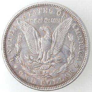 reverse: USA. Dollaro Morgan 1879 S. Ag.