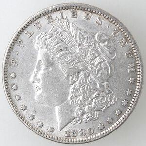 obverse: USA. Dollaro Morgan 1880 Philadelphia. Ag.