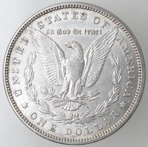reverse: USA. Dollaro Morgan 1880 Philadelphia. Ag.