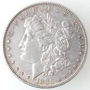 obverse: USA. Dollaro Morgan 1880 O. Ag.