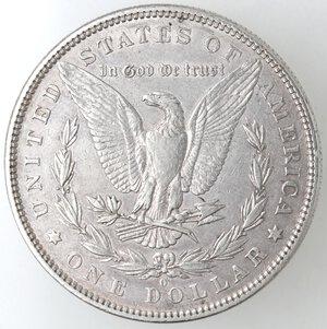 reverse: USA. Dollaro Morgan 1880 O. Ag.