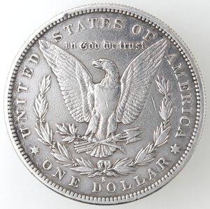 reverse: USA. Dollaro Morgan 1880 S. Ag.