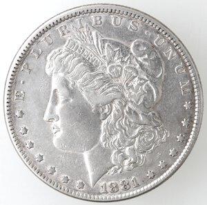 obverse: USA. Dollaro Morgan 1881 Philadelphia. Ag.